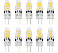 1W G4 2-pins LED-lampen T 6 SMD 5733 80 lm Warm wit / Koel wit Decoratief DC 12 V 10 stuks