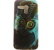 de volta IMD Corujas TPU Macio Case Capa Para Motorola Moto G