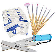 Nail Tool LED Light Kits/Remove The Nail Polish Glue/LED Lights/Nail Brush/Nail Polish Stick Tools