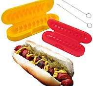 1set Creative Kitchen Gadget / novo Plástico Conjuntos de Ferramentas