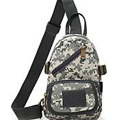 10 L Sling & Messenger Bag Camping & Hiking Outdoor Waterproof Gray Nylon