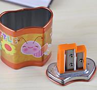 Pupils Holes Pencil Sharpener School Supplies Cute Cartoon Pencil Sharpener