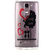 Back Pattern Tree TPU Soft Luxury Bronzing Case Cover For LG LG K10 / LG K8 / LG K7