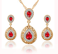 Vintage Bohemian Crystal / Alloy Jewelry Set Bridal Jewelry Sets Wedding / Party / Daily / Casual 1set