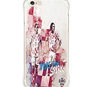 zurück Wasserdichte / Stoßfest / Transparent Other TPU WeichBack Shockproof/Waterproof/Transparent TPU Soft Football Star Case Cover For