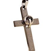 The Cross - Round Pendant