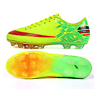 ailema Men's Football Sneakers Spring Cushioning / Wearproof / Breathable Shoes Yellow / Green / Red / Blue 33-44