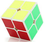 Yongjun® Cubo velocidad suave 2*2*2 Fluorescente / Velocidad / Nivel profesional Cubos Mágicos Negro / Blanco Plástico