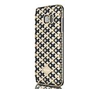 Für Samsung Galaxy Hülle Stoßresistent / Geprägt Hülle Rückseitenabdeckung Hülle Geometrische Muster Weich Silikon SamsungJ7 (2016) / J5