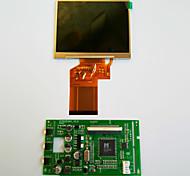 3,5 pulgadas tablero de conductor pantalla LCD de dos av todo el camino prevalecen lq035nc111