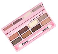 8 colores del sombreador de ojos desnudos duraderos belleza maquillaje # s101 comestic