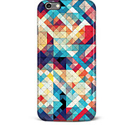 For iPhone 6 Case / iPhone 6 Plus Case Glow in the Dark / Pattern Case Back Cover Case Geometric Pattern Hard PCiPhone 6s Plus/6 Plus /