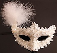 Classic Patch Feather Mask Masquerade Party Festive Supplies Goggles