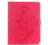Per Porta-carte di credito / Other Custodia Integrale Custodia Fiore decorativo Morbido Similpelle Apple iPad 4/3/2