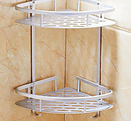 Free Perforated Aluminum Bathroom Shelves Bathroom Tripod Bathroom Hardware Accessories