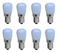 Jiawen 8pcs/lot LED Bulb AC 220V Bright Lamp for Fridge Freezer Crystal Chandeliers Lighting