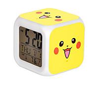 Cartoon Pet Colorful Luminous Alarm Clock-11#