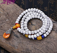 Fashionable Resin 73cm Round Strand Bracelets