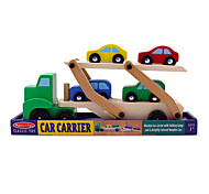 Double Layer Transport Vehicle Wooden Toy