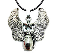 Man Necklace, Stainless Steel Accessories - Bomb Grenades