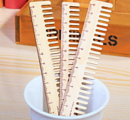 Comb Wooden Ruler 1 PCS