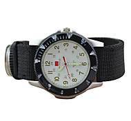 Men's Military Design Fabric Band Quartz Watch Fashion Watch Cool Watches Unique Watches