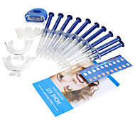 Zhonghua Teeth Whitening Kit Ipoallergenico / Non testato su animali Adulto Bianco Plastic