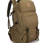 35 L Zaino per escursioni Campeggio e hiking All'aperto Impermeabile / Multifunzione Cachi / Blu / Verde militare Nylon