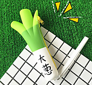 Korea Creative Pencil Cartoon Banana Cargo Eat Green Onions Pencil Large Capacity Pencil Silicone Purse