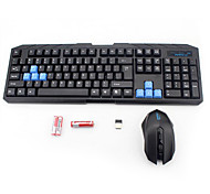 Sem Fio USB Teclado & MouseForWindows 2000/XP/Vista/7/Mac OS
