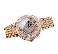 Women's Luxury Rose Gold Diamond Quartz Watch