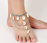 Fashion Shell Tassels Chain Anklet Christmas Gifts