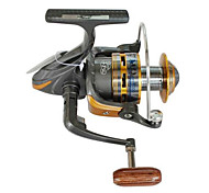 Spinning Reels 5.2/1 9 Ball Bearings Exchangable Bait Casting / General Fishing-HYD6000 LANGWANG