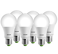 IENON®  6 pcs  5W  E27 LED Globe Bulbs A60(A19) 1 COB 400-450 lm Warm White / Cool White Decorative AC 100-240 V