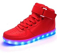 Others Running Casual Shoes Unisex Lighted High-Top Leisure Sports Others Leisure Sports