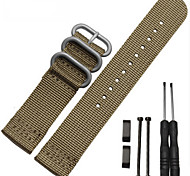 New For Suunto essential Core Watch Band 24MM Nato Nylon Strap+Adapters+Lugs+Tools For Suunto Core