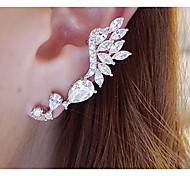 Women's Crystal Fashion Alloy Jewelry Wings / Feather Jewelry For Daily Casual