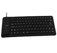 85 Keys Silicone Wired Portable Keyboard for Laptop