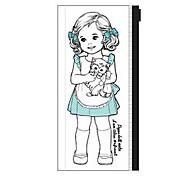 прозрачный мешок ручки корейская девушка