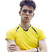 Others Men's Breathable / Soft Leisure Sports Tops / T-shirt Yellow / White / Red / Black / Blue