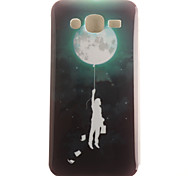 Moon Pattern TPU+IMD Soft Case for Multiple Samsung J1/J1(2016)/J5/J510/J710(2016)