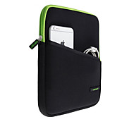 9.7inch Universal Protective Tablet Sleeve Case Green+Black