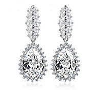 Women Fashion AAA Zirconia Drop Earrings