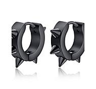 Men's Personality Steel Nail Style Titanium Earrings