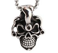 ghost collier crâne de titane