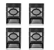 1.5W LED solari 160 lm Luce fredda Capsula LED Ricaricabile / Decorativo / Impermeabile <5V V 4 pezzi