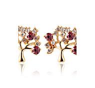 Imitation Diamond AAA Cubic Zirconia Stud Earrings Hoop Earrings Earrings Set Earrings Jewelry Women Halloween Wedding Party Daily Alloy1