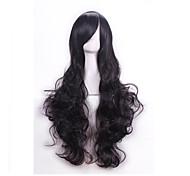 высокое качество длиной 80 см волнистые парики из синтетических волос синтетический парик-женщинам Косплей парики Карнавальные парик