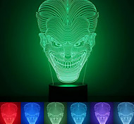 Jack Creative Colorful USB 3D Led Night Light