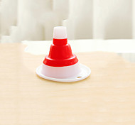 Scalable Silicone Kitchen Gadget / New Plastic Funnel(Random Colour)